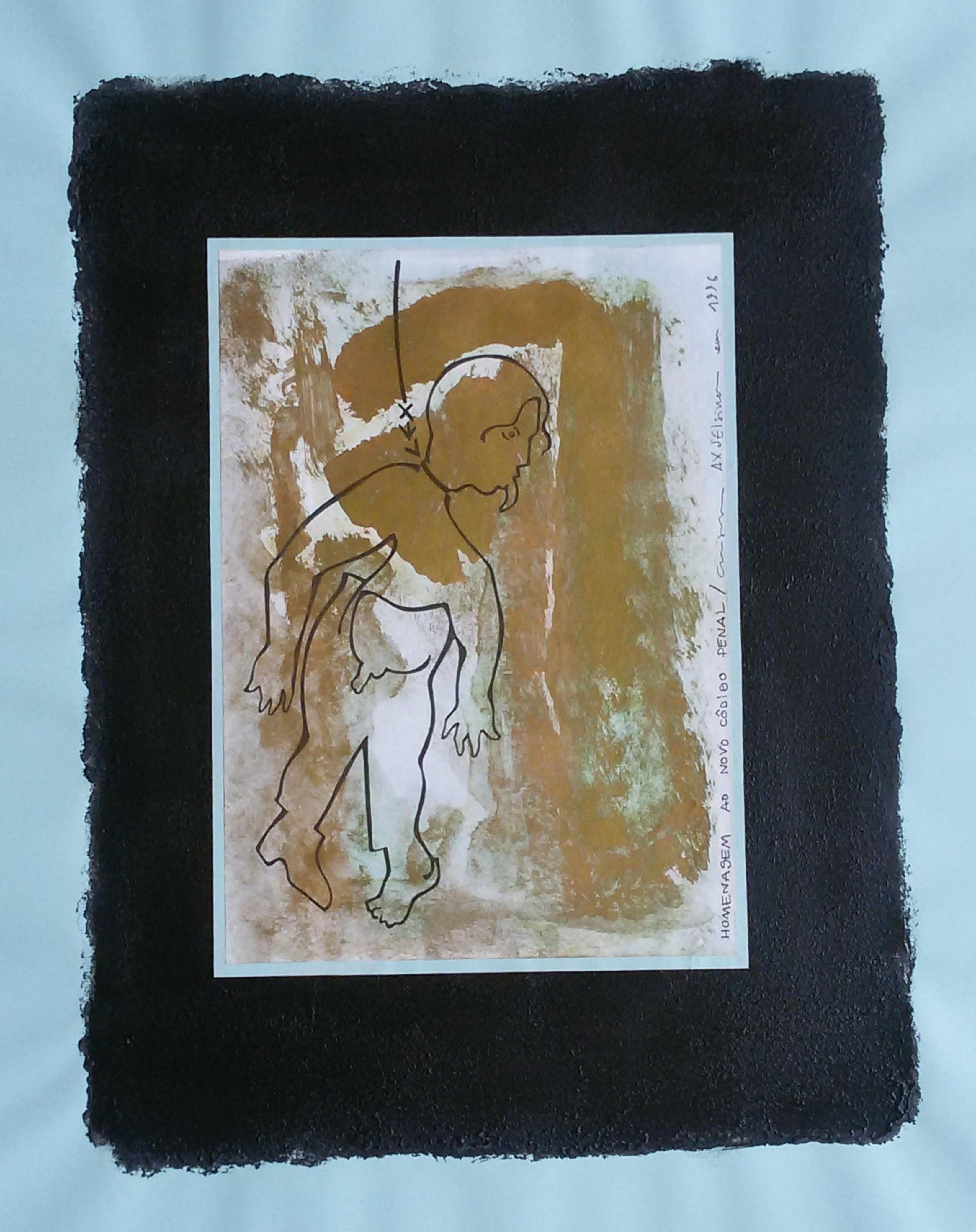 Ladislau da Regueira | Debuxar não é pintar  # Homenagem ao Novo Côdigo Penal | 1996