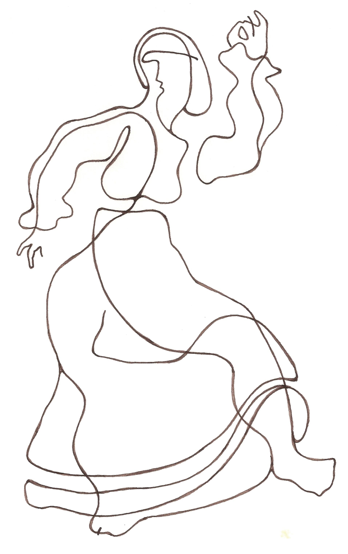 Ladislau da Regueria   Danças da Invernia   Dançarina de Muinheira 3 (1989)