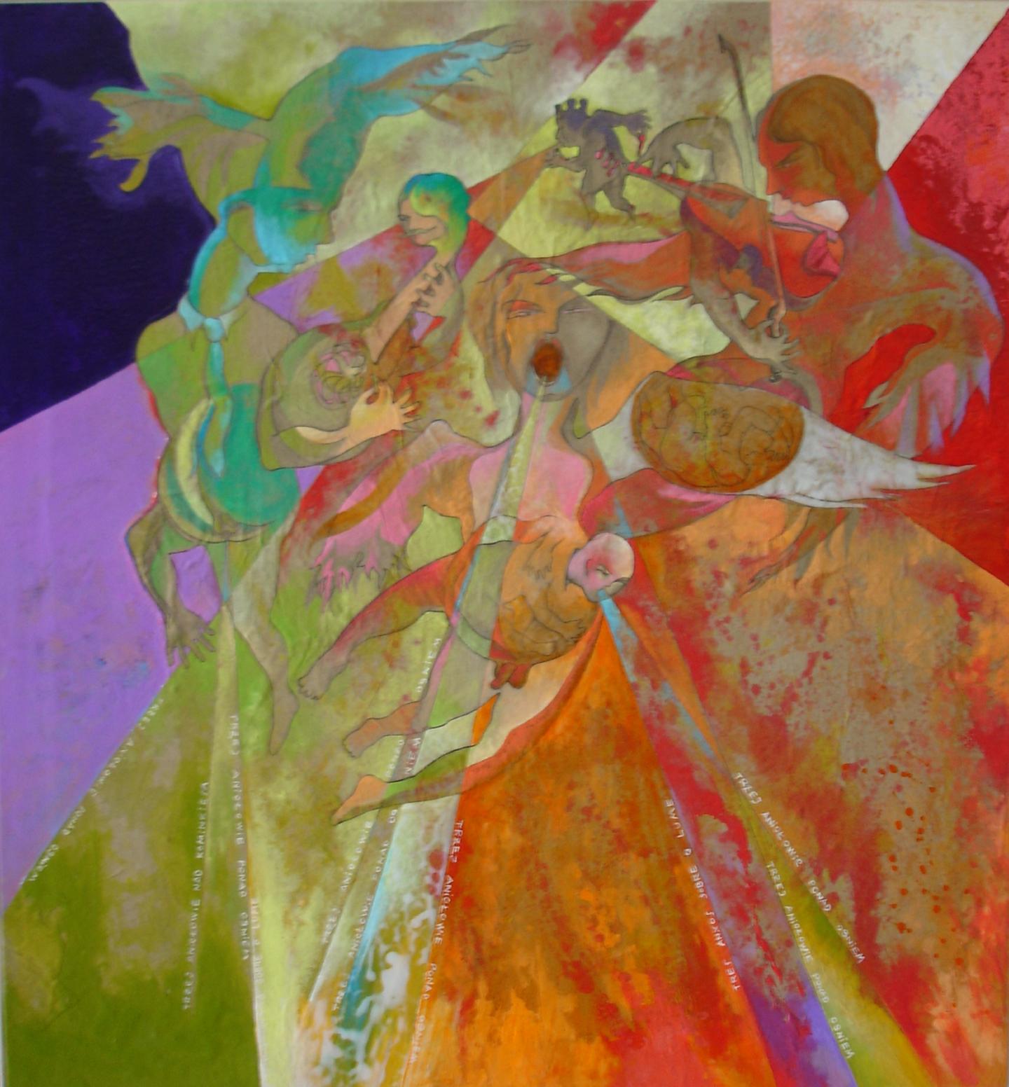 Ladislau da Regueira | Três anjos sobre o lume (2004)
