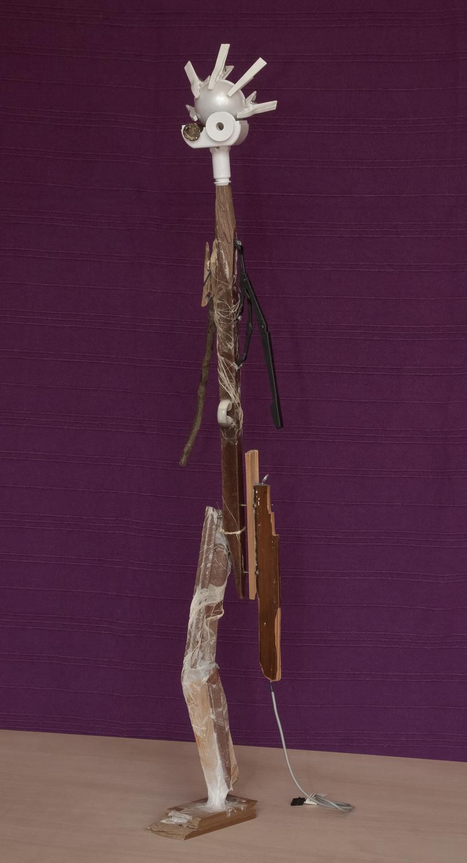 Ladislau da Regueira | Espaciand'o Tempo | Homenage~Retrato a Giacometti (2007)