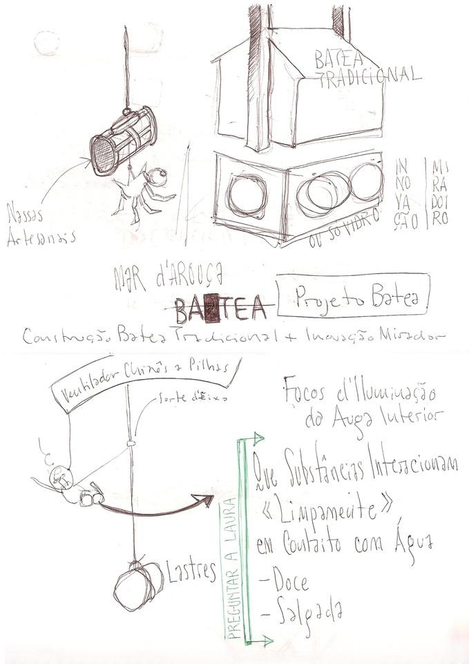 Ladislau da Regueira | Projecto Batea # 3 (2005)