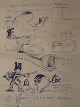 Ladislau da Regueira | Doxografia da'xistência: Acoutações Gráficas | Doc.Núm. 184