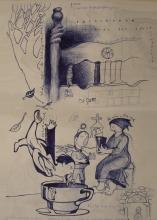 Ladislau da Regueira | Doxografia da'xistência: Acoutações Gráficas | Doc.Núm. 173 &175