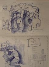 Ladislau da Regueira | Doxografia da'xistência: Acoutações Gráficas | Doc.Núm.167 & 168