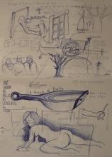 Ladislau da Regueira | Doxografia da'xistência: Acoutações Gráficas | Doc.Núm. 165 &166