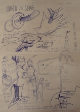 Ladislau da Regueira | Doxografia da'xistência: Acoutações Gráficas | Doc.Núm.153