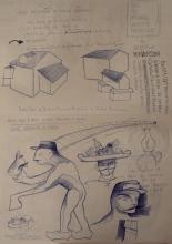 Ladislau da Regueira | Doxografia da'xistência: Acoutações Gráficas | Doc.Núm.151