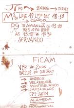 Ladislau da Regueira | Caderno d'Anotações | Galeri'Ando 2 (1999)