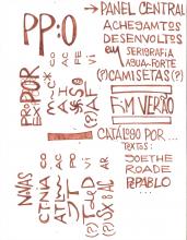 Ladislau da Regueira   Caderno d'Anotações   Elaboração comnceptual de Palavras Primigêneas, Órficas (1999)