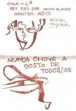 Ladislau da Regueira | Caderno d'Anotações | Sempre chove mas nunca escampa (1998)