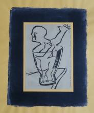 Ladislau da Regueira | Debuxar não é pintar  # Profeta em vidro | 1996