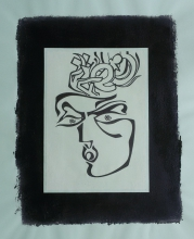 Ladislau da Regueira | Debuxar não é pintar  # Homenagem a Xabi Roade | 1996