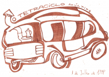 Ladislau da Regueira | Caderno d'Anotações | O tetraciclo multiplo (1998)