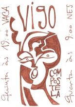 Ladislau da Regueira | Caderno d'Anotações | Vigo ~ Compostela (1997)