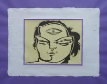 Ladislau da Regueira | Debuxar não é pintar  # Auto-acadamento da categoria de Cíclope Anano NºUm | 1998