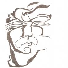 Ladislau da Regueira | Caderno d'Anotações  #  Calado perante o Conquistador Macho | 2004