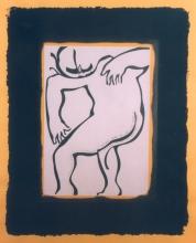 Ladislau da Regueira   Debuxar não é pintar   Auto-Retrato Número Quinze (1995)