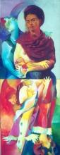 Ladislau da Regueira   Auto~retractos com mariscos: Frida Kahlo, a maior delícia que nunca mais catou home ou mulher (1996~1998)