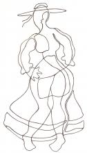 Ladislau da Regueria | Danças da Invernia | Dançarina de Muinheira 2 (1989)