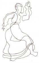 Ladislau da Regueria | Danças da Invernia  |Dançarina de Muinheira 3 (1989)