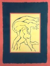 Ladislau da Regueira | Debuxar não é pintar | O Troveiro Errante nāo, um home cipote adiantado pola sua direita por um arcanjo falso, logo ... é-che o Ghabriel? (1999)