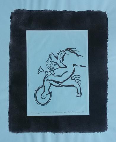 Ladislau da Regueira   Debuxar não é pintar  # O Tricípedo   1997