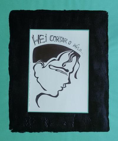 Ladislau da Regueira | Debuxar não é pintar  # Hei cortar o pêlo | 1997