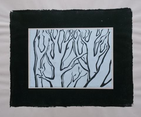 Ladislau da Regueira | Debuxar não é pintar  #  Bosque em Brote | 1996